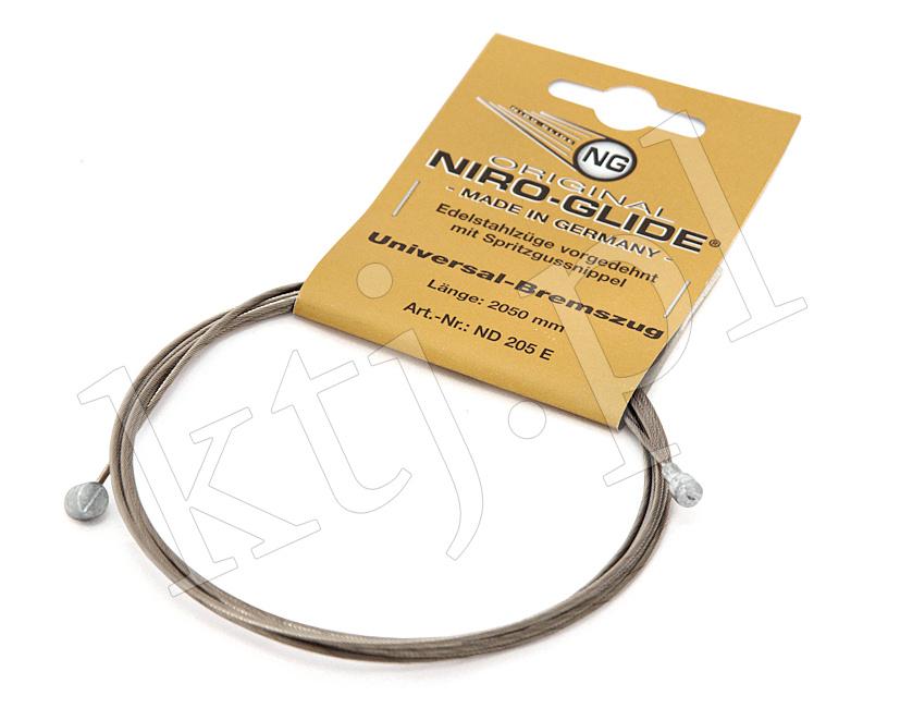 Niro-glide - linka hamulcowa