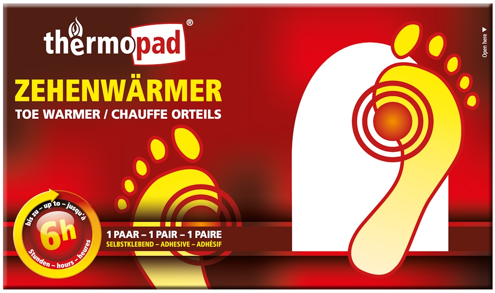 Thermopad - ogrzewacz palców stóp