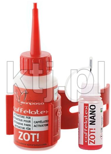 Caffélatex ZOT! katalizator procesu uszczelniania
