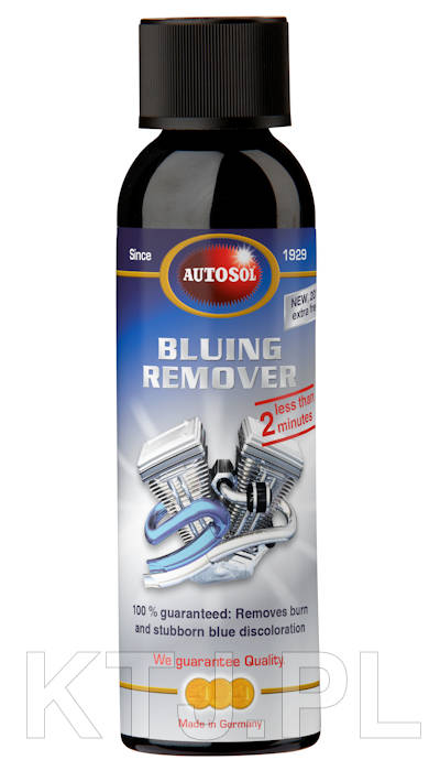 Autosol Bluing Remover