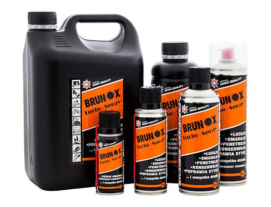 BRUNOX Turbo-Spray - ogólny preparat czyszcząco-konserwujący