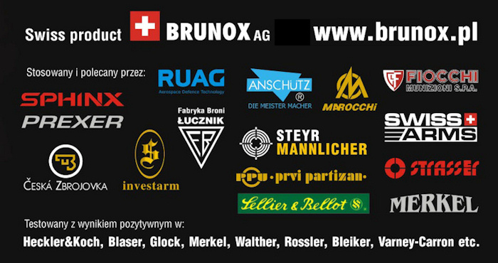 Brunox producenci broni