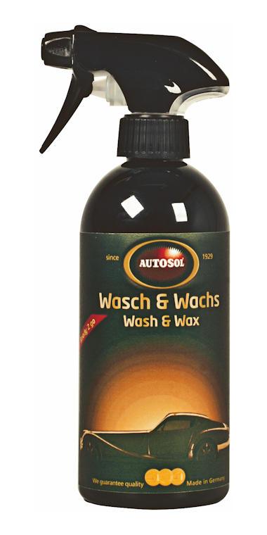 Autosol szybkie czyszczenie i woskowanie bez przygotowań [016080]