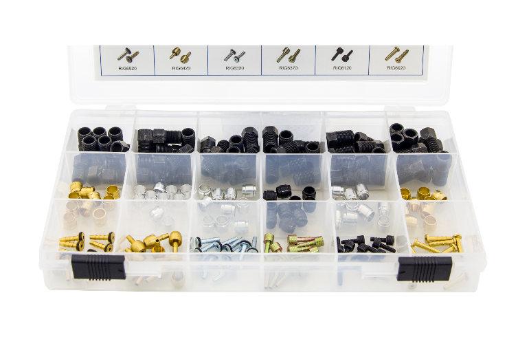Quaxar zestaw końcówek hamulcy hydraulicznych