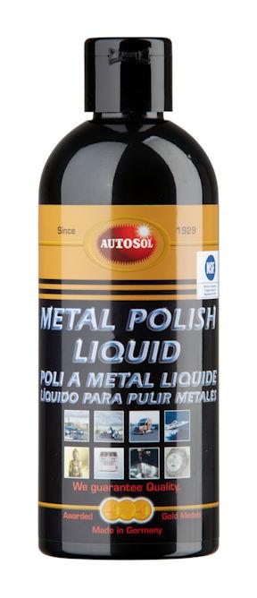 Autosol metal polish liquid mleczko polerskie [001100]