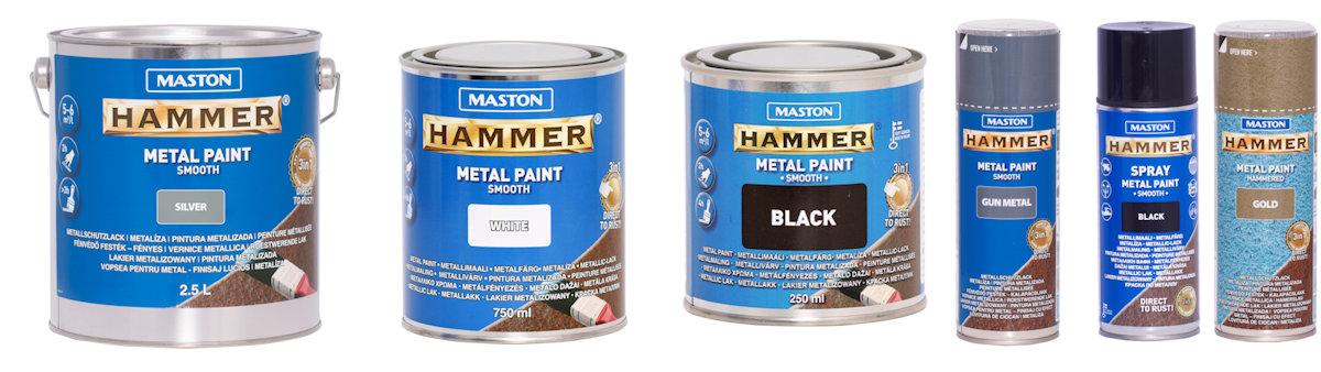 Maston hammer farba na rdzę efekt młotkowy