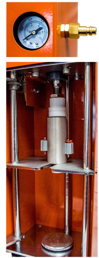 Pneumatyczna maszynka do nabijania półproduktu
