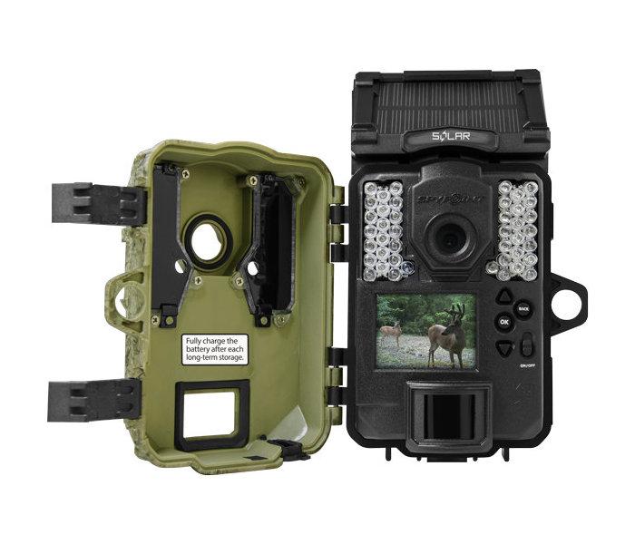 Kamera fotopułapka SpyPoint Solar środek