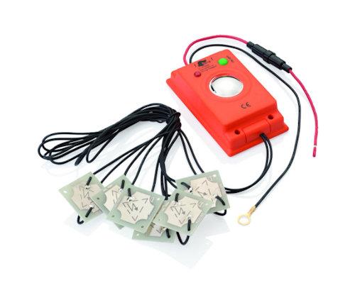 MARDERfix pastuch elektryczny o wysokim napięciu z sygnalem akustycznym
