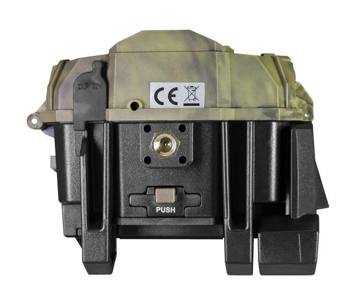Kamera fotopułapka SpyPoint Link S z transmisją danych i panelem słonecznym spód