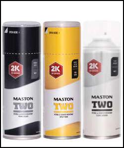 Maston 2K TWO - dwukomponentowy lakier w sprayu